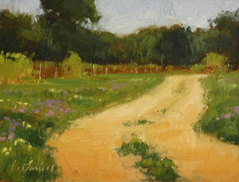 """Wandering"" original fine art by Laurel Daniel"