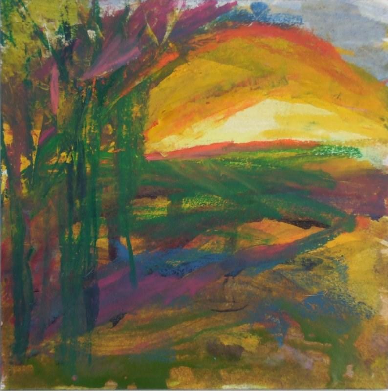 """Mind's Eye"" original fine art by Meredith Adler"