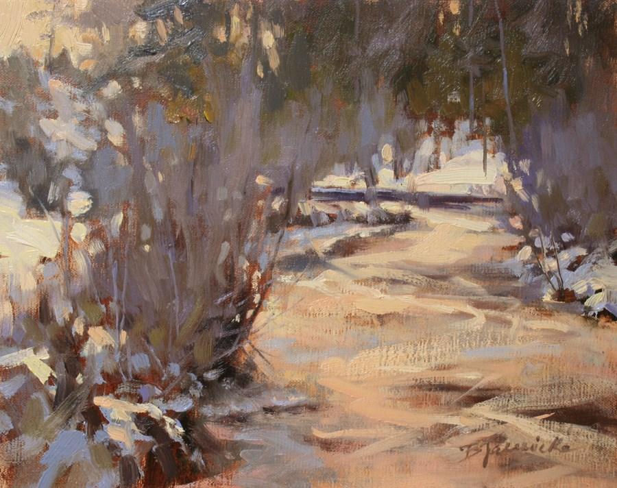 """A Moment of Calm"" original fine art by Barbara Jaenicke"