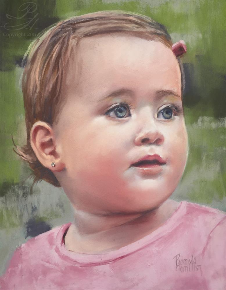 """Jade"" original fine art by Pamela Hamilton"