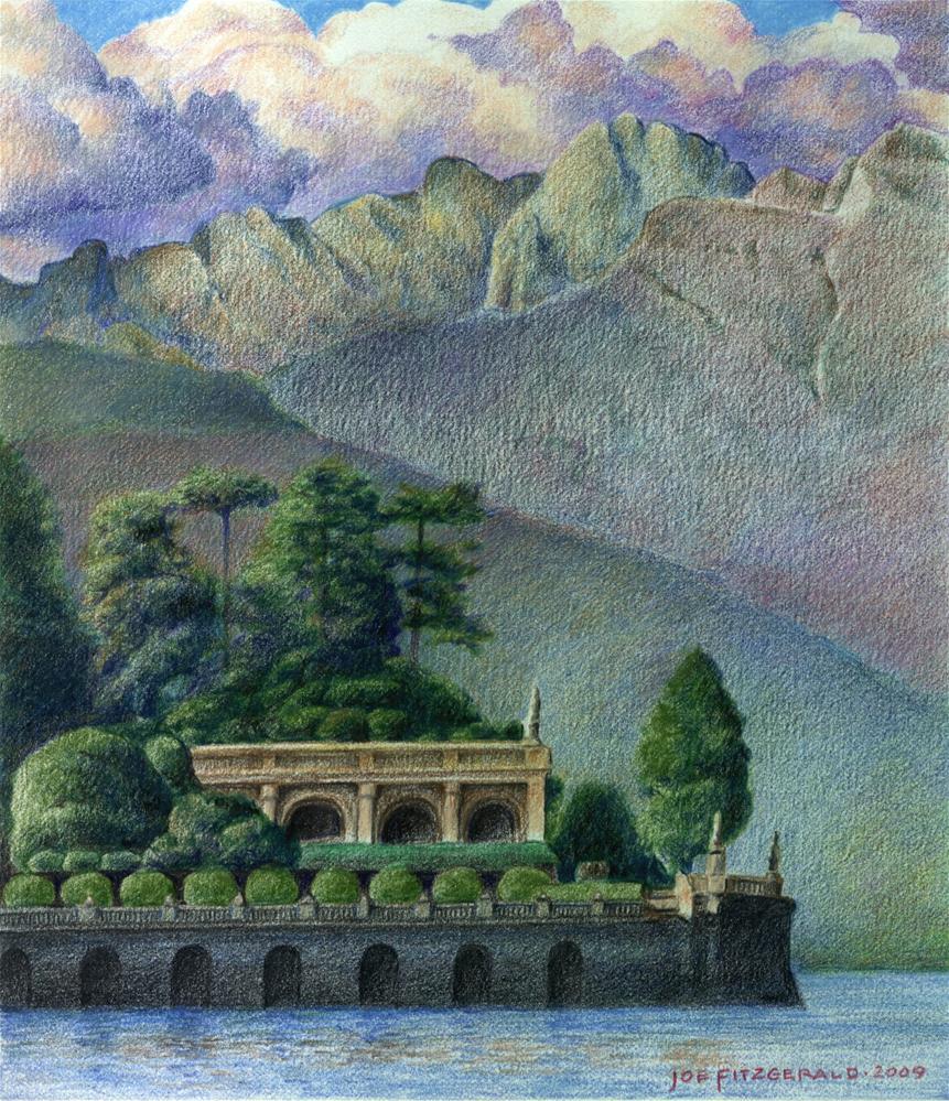 """Isola Bella"" original fine art by Joe Fitzgerald"