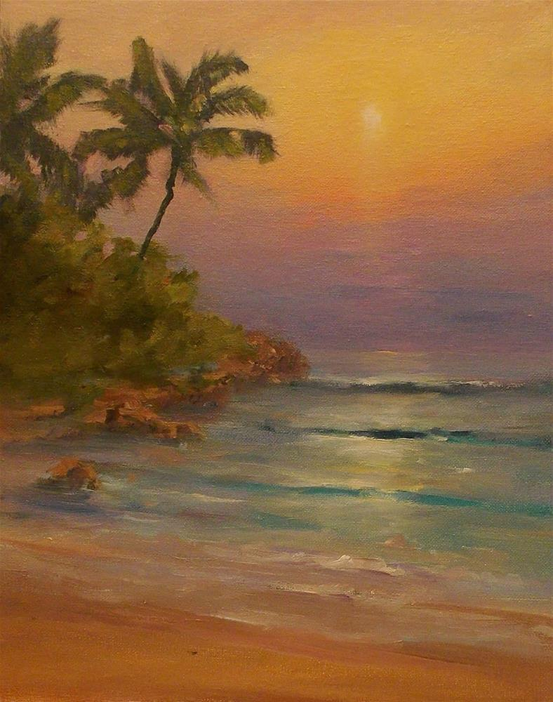 """ Vacation Dreams "" original fine art by Doug Carter"