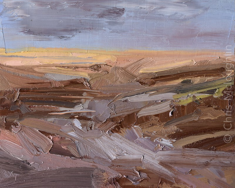 """After a Storm on Ainsdale"" original fine art by Chris Mcloughlin"