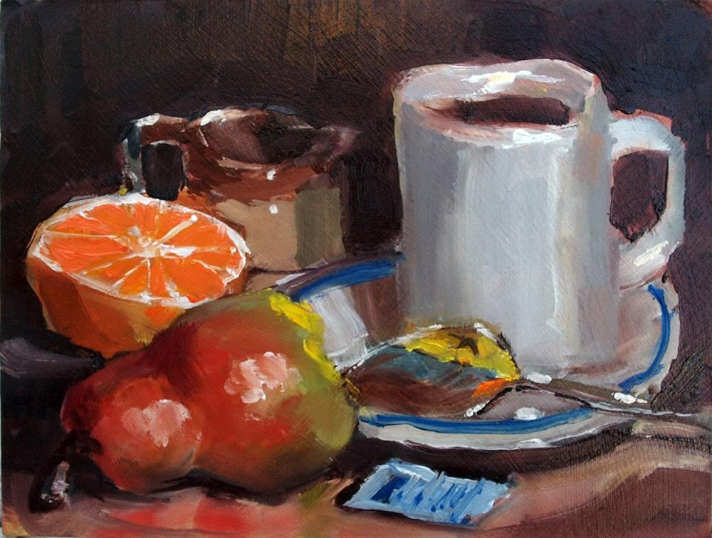 """Breakfast"" original fine art by Rick Nilson"