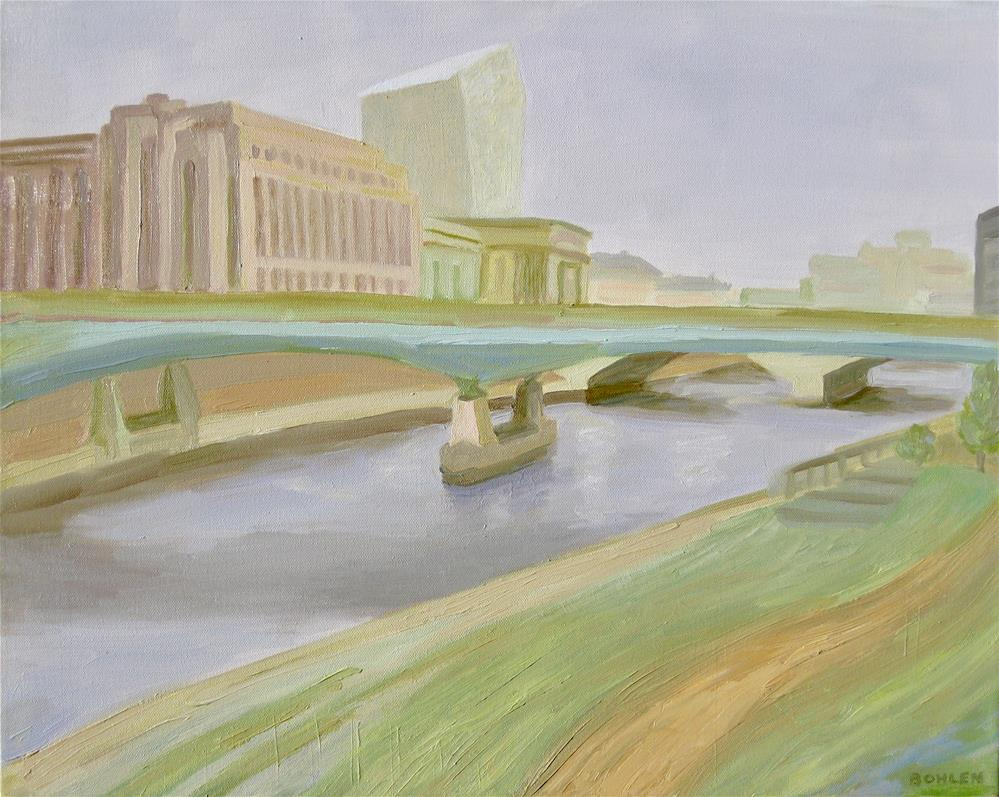 """30th street station"" original fine art by Priscilla Bohlen"
