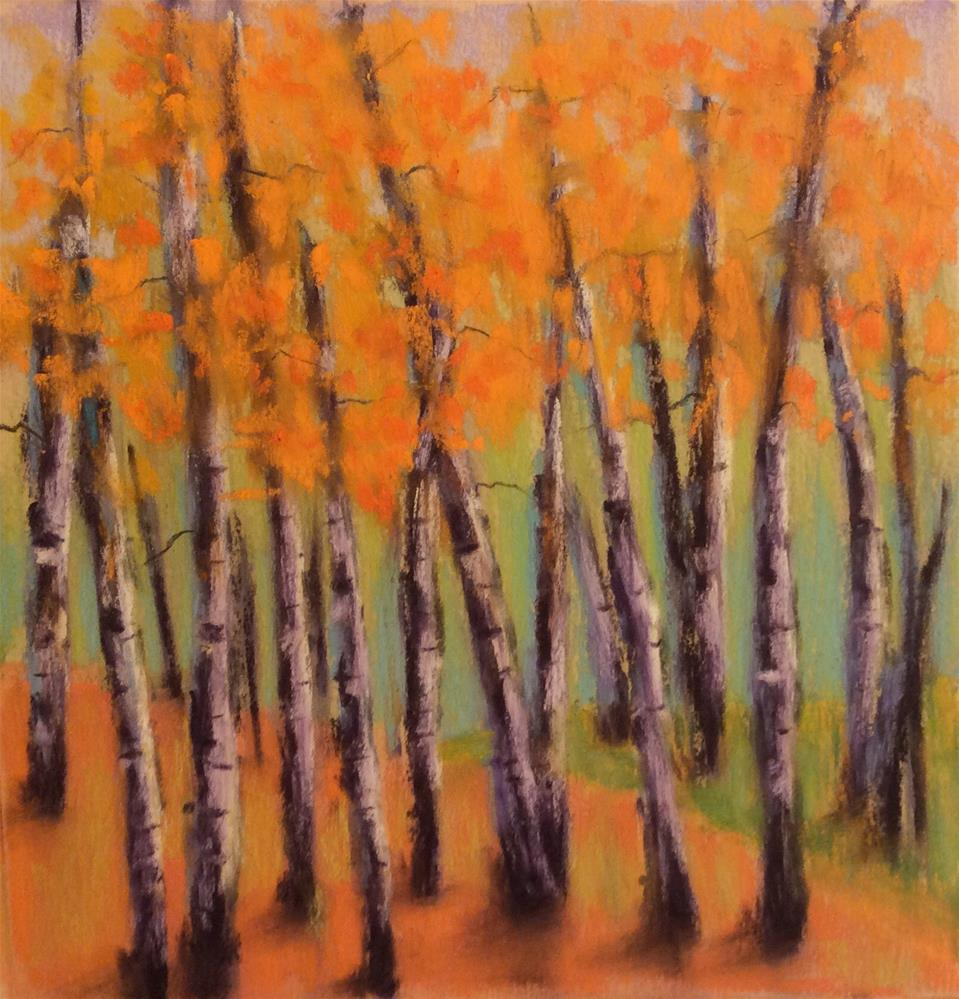 """Aspen 5"" original fine art by Angeli Petrocco Coover"