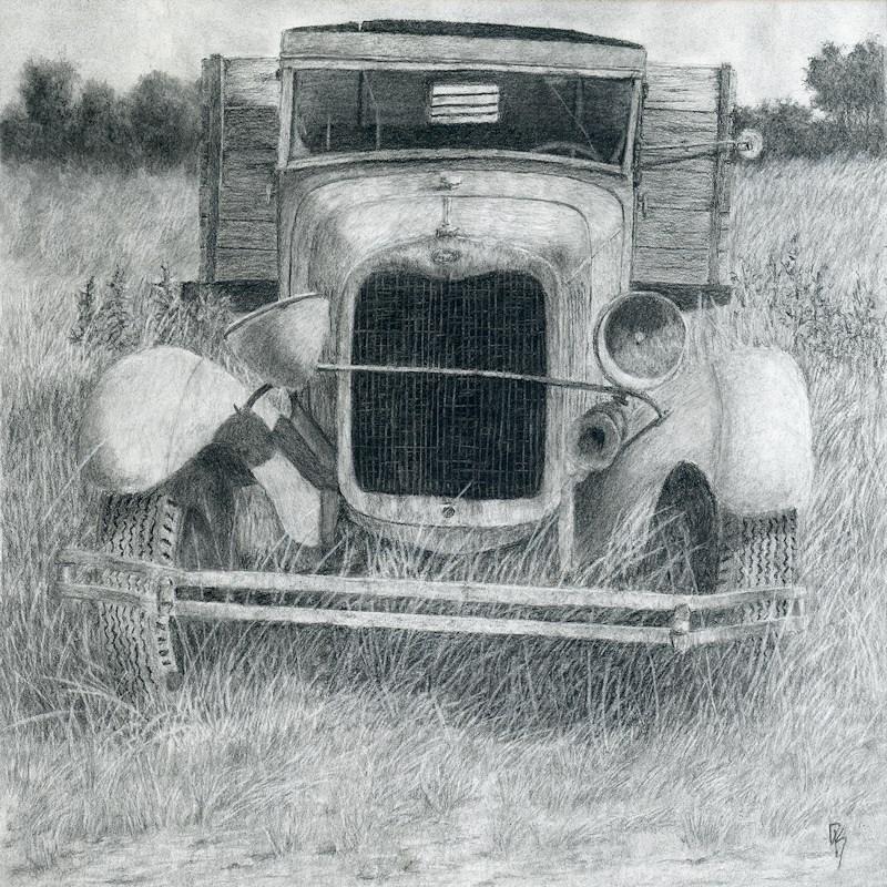 """A Little Loopy"" original fine art by David King"