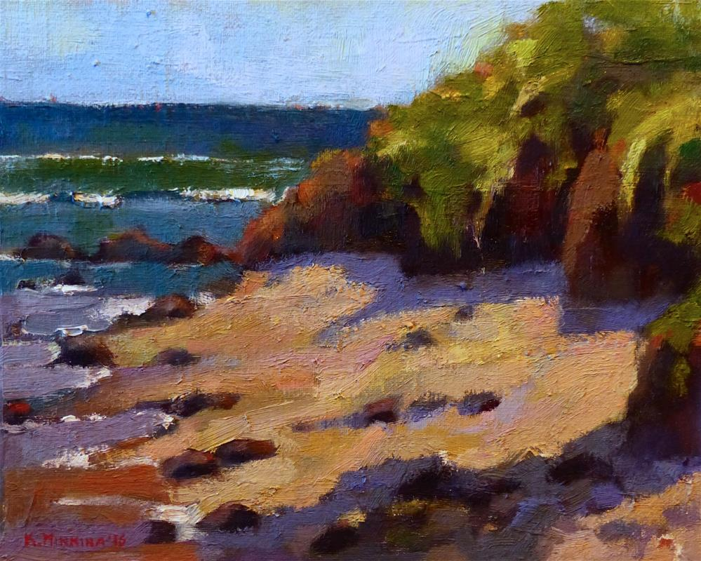 """pleinair#4 (Baby Beach, Maui)"" original fine art by Katya Minkina"