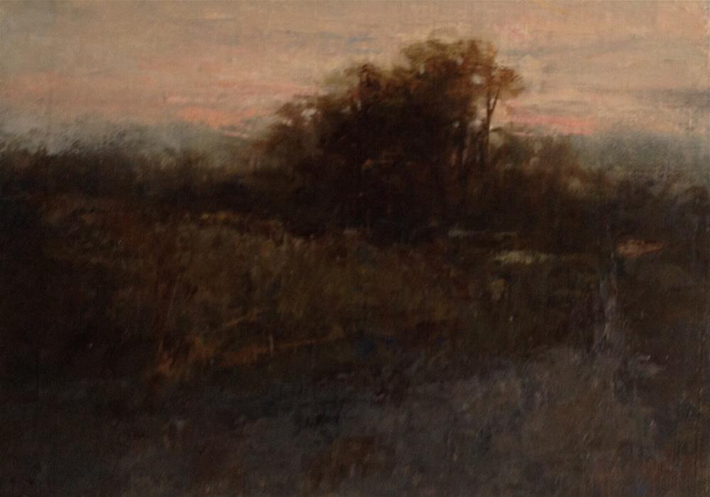 """Dark Road"" original fine art by Dj Laurienzo"