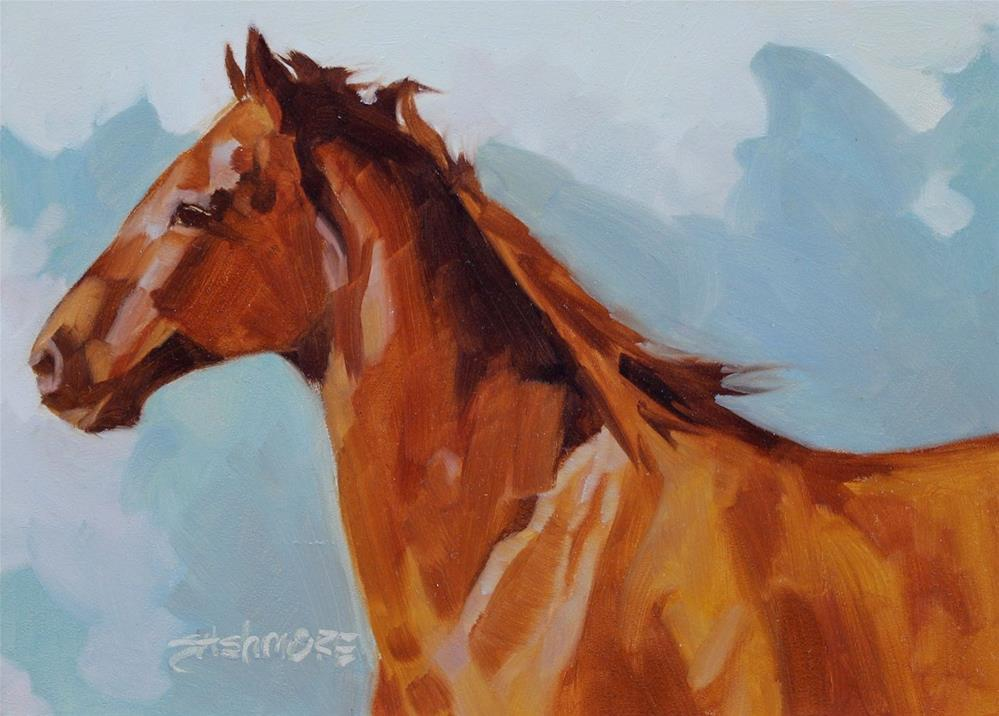 """Redman"" original fine art by Susan Ashmore"