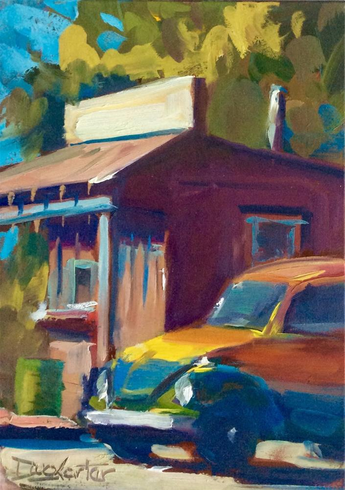 """ BUG SHACK"" original fine art by Doug Carter"