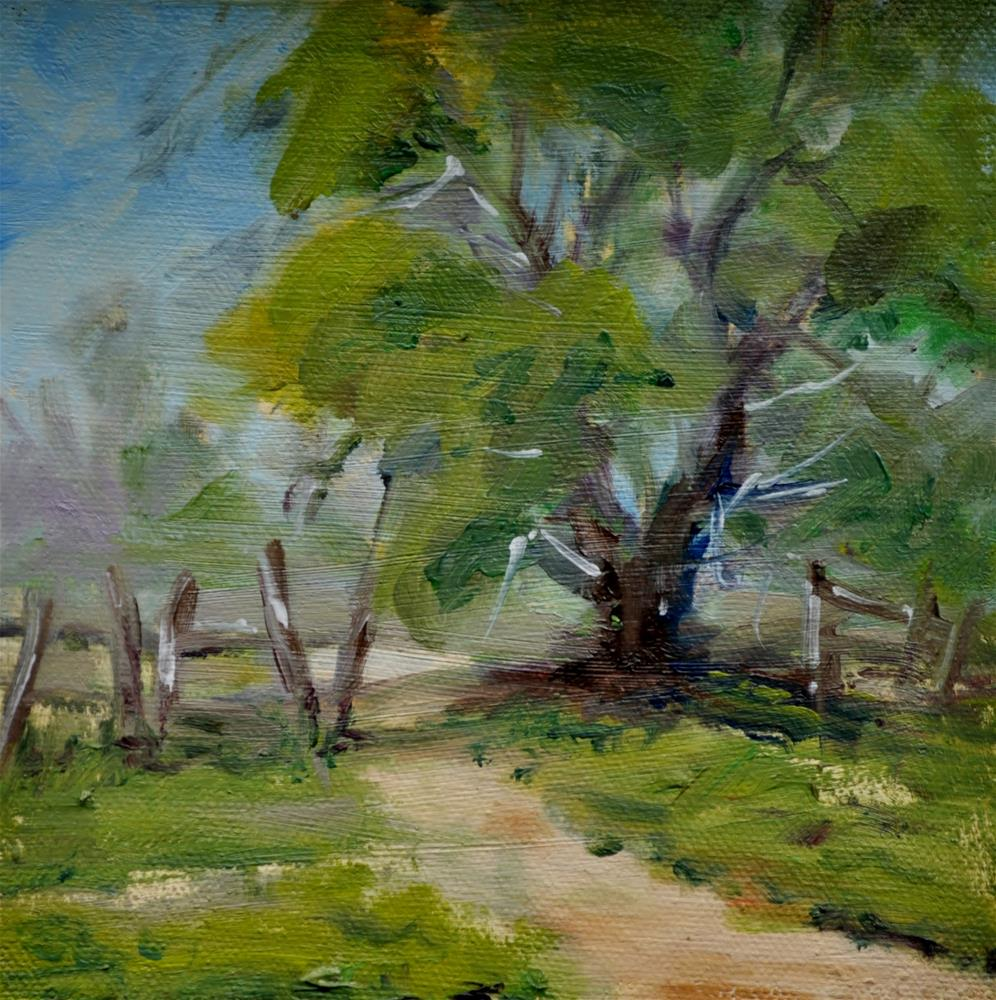 """The One Tree Summer Challenge"" original fine art by Catherine Crookston"