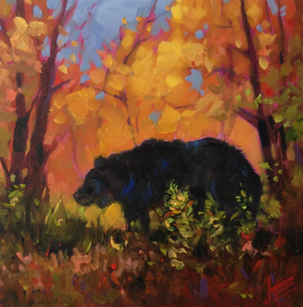 """Afternoon Stroll"" original fine art by Krista Eaton"