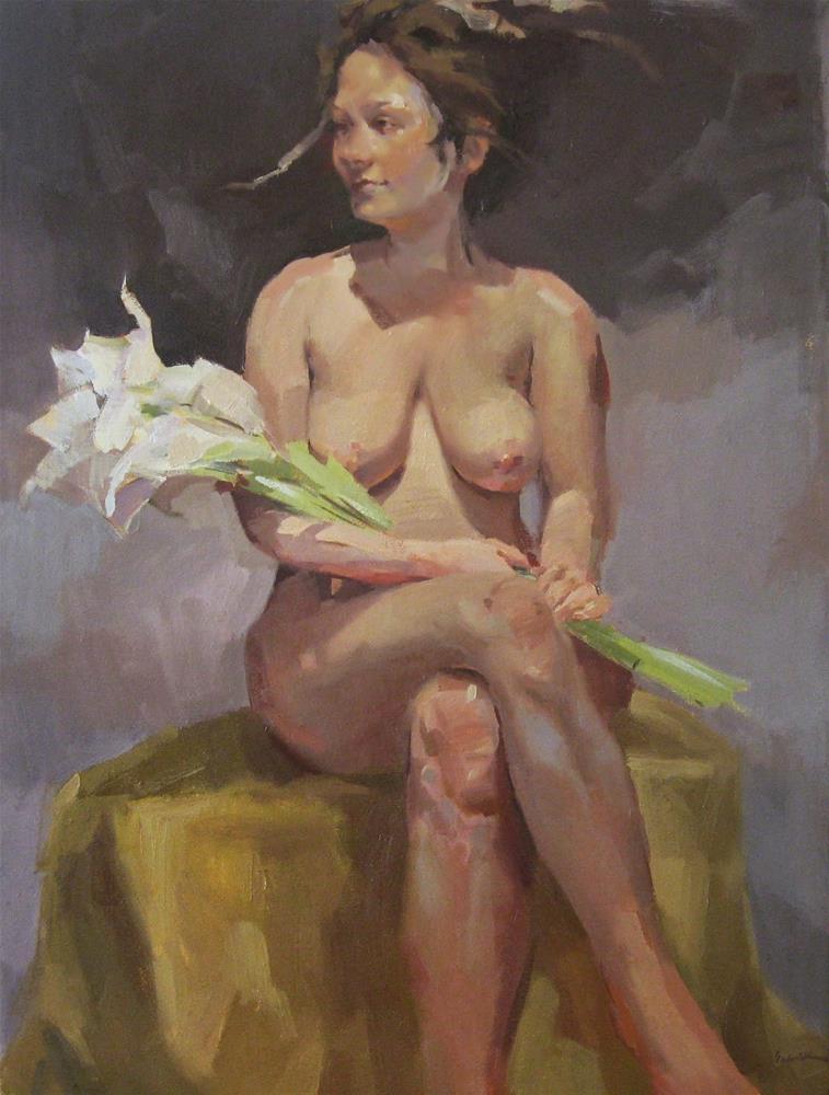 """Muse of Spring"" original fine art by Sarah Sedwick"