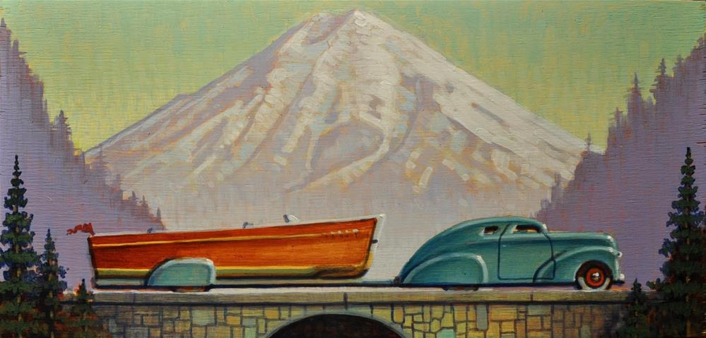 """Runabout"" original fine art by Robert LaDuke"