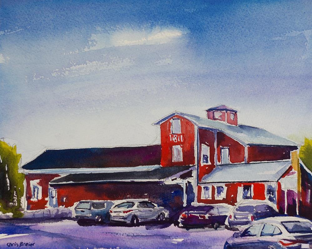 """""""Williamsville Water Mill Complex"""" original fine art by Chris  Breier"""