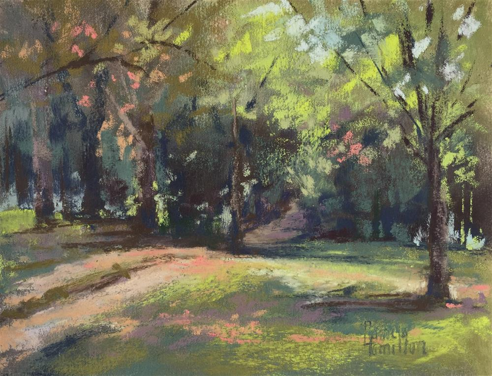 """Quiet Path"" original fine art by Pamela Hamilton"