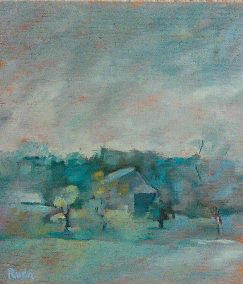 """""""Dreamscape"""" original fine art by Ann Rudd"""
