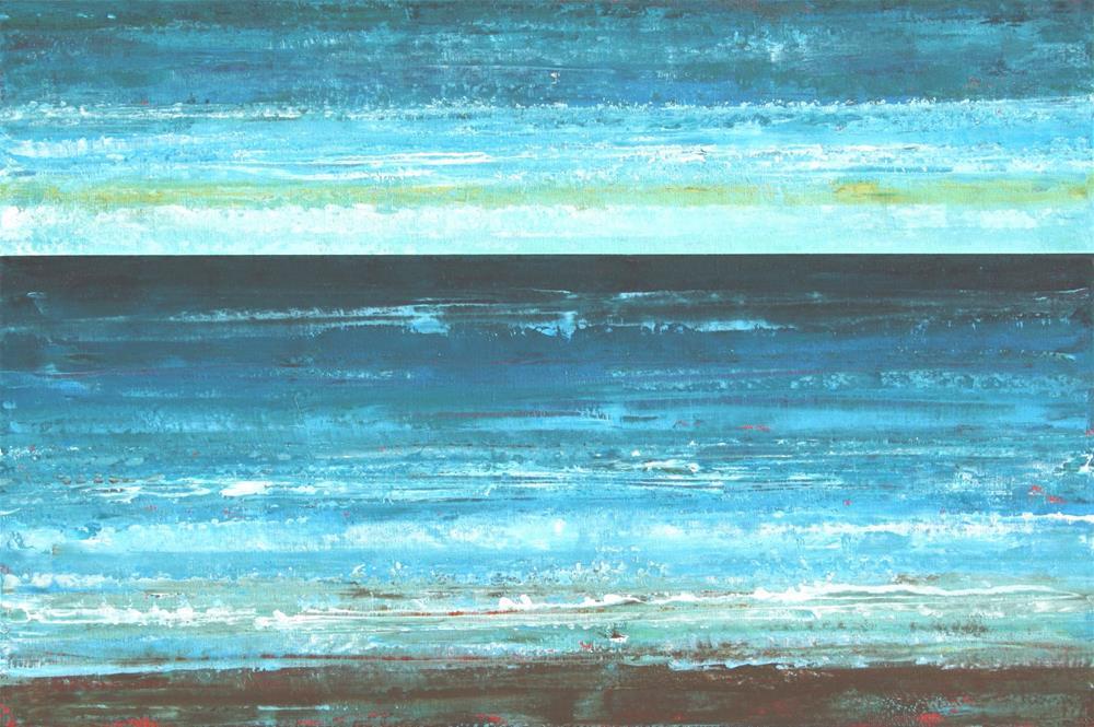 """Deep Blue Sea"" original fine art by Sage Mountain"