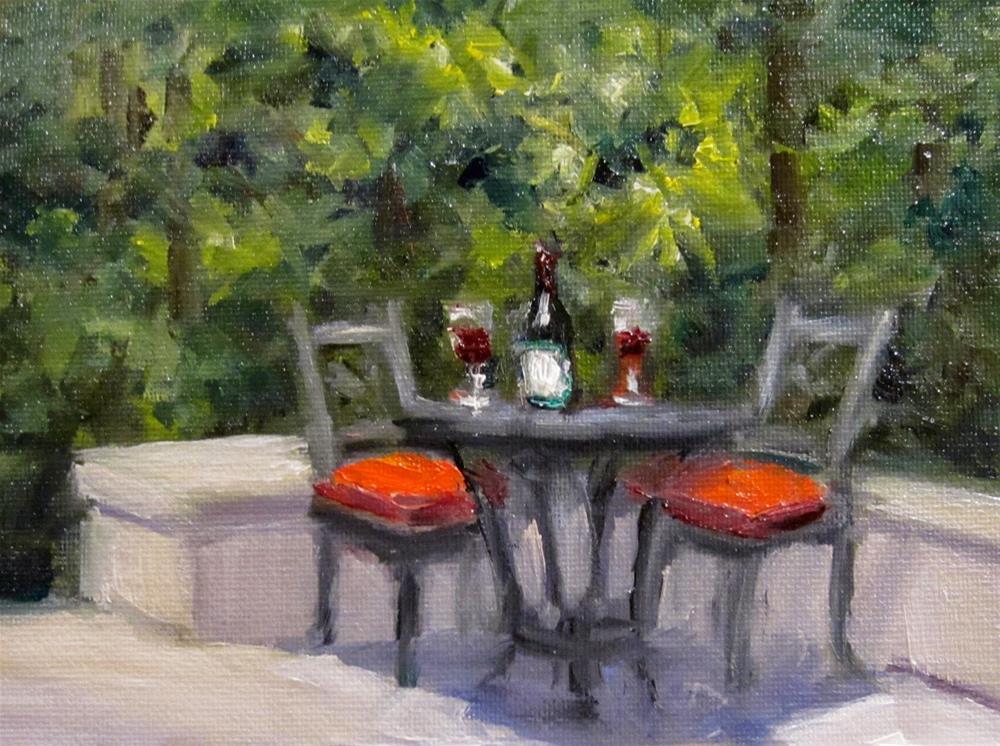"""Sweet Spot"" original fine art by Pat Fiorello"