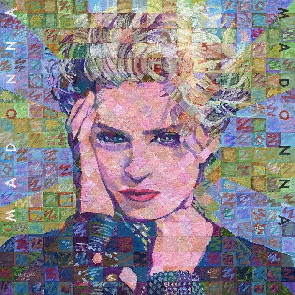 """Madonna (Album)"" original fine art by Randal Huiskens"