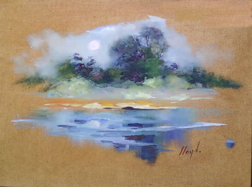 """Reflections"" original fine art by Diane Lloyd"