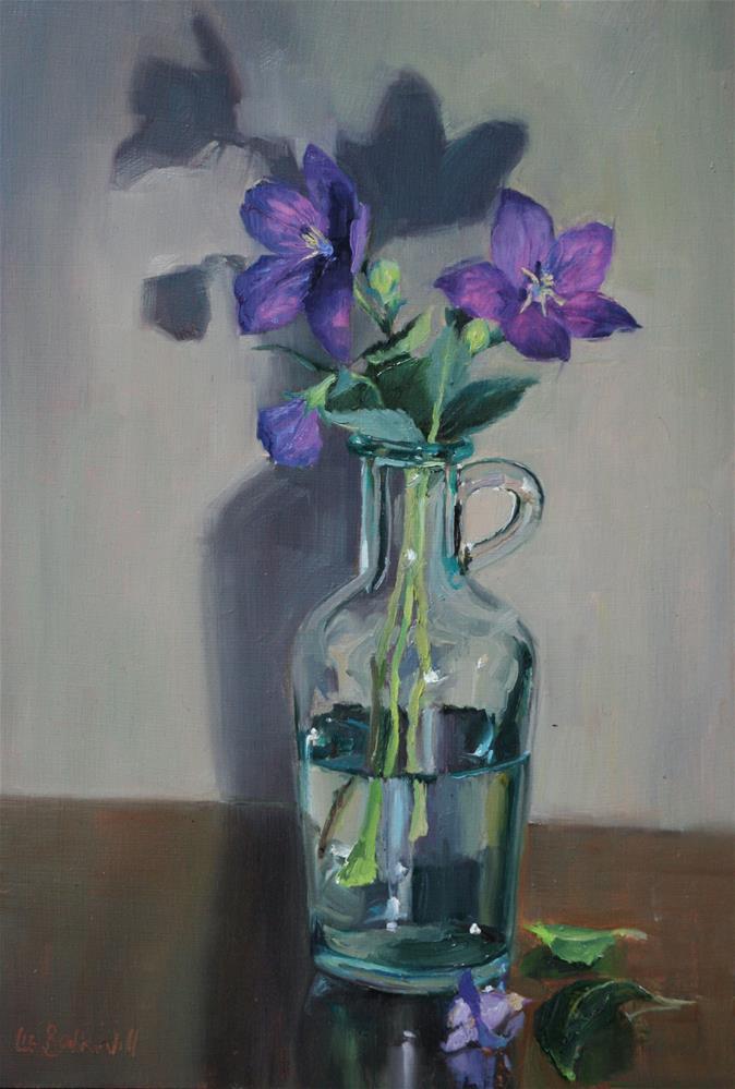"""""""Bell Flowers"""" original fine art by Liz Balkwill"""