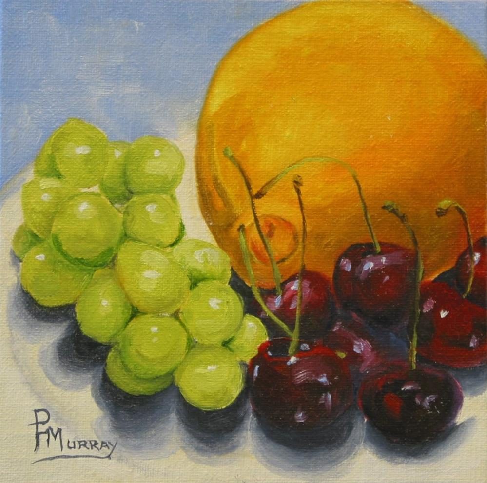 """Fruit Phase"" original fine art by Patricia Murray"