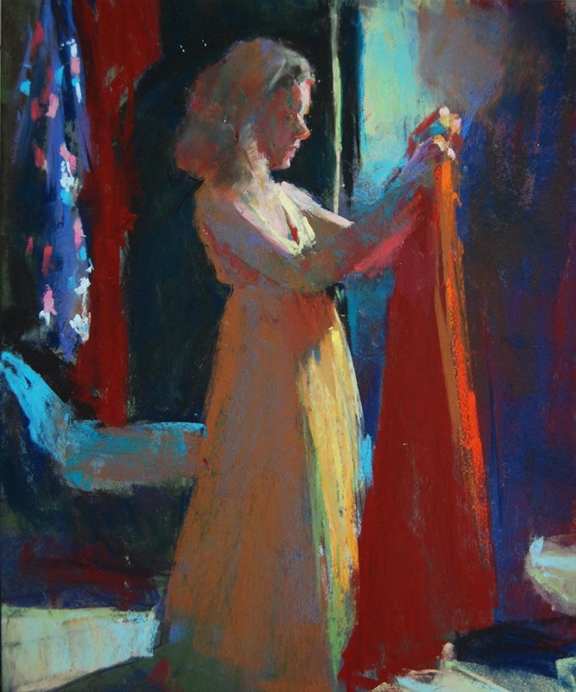 """""""Ann"""" original fine art by Margaret Dyer"""
