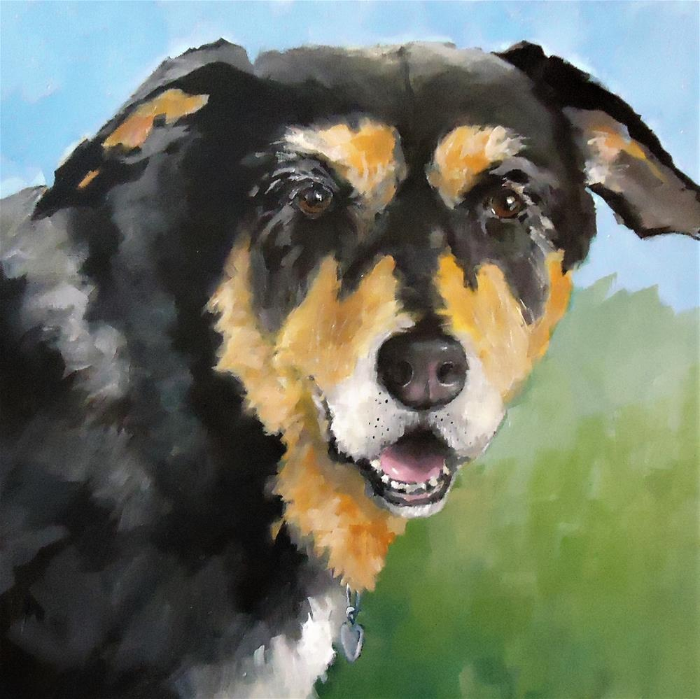 """Maxie"" original fine art by Laurie Mueller"
