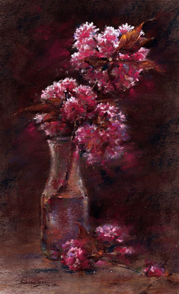 """Cherry Blossom"" original fine art by Sabrina Zhou"