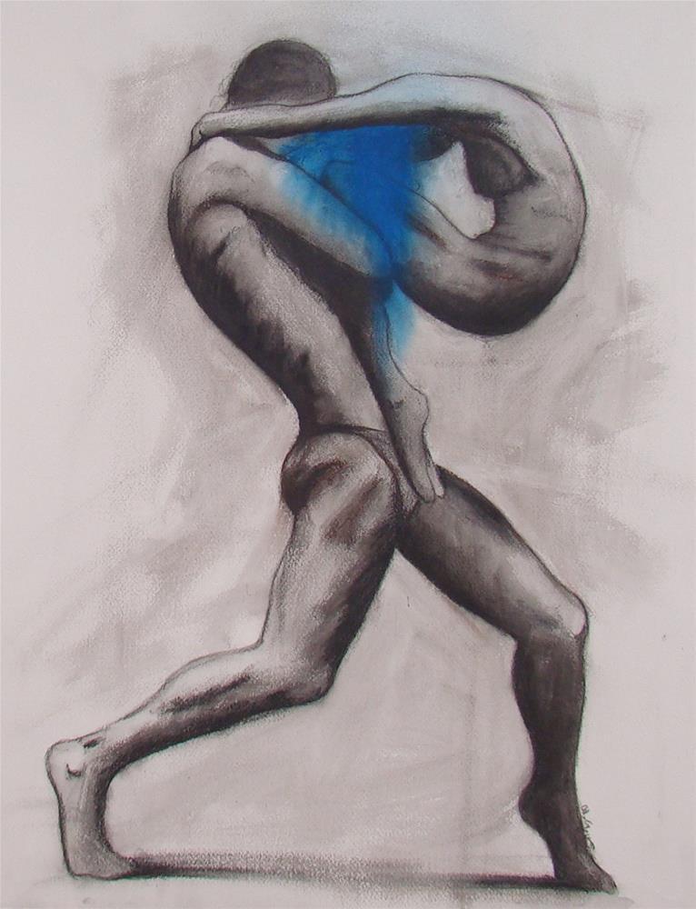 """""""Body"""" original fine art by Vito Cagnazzo"""