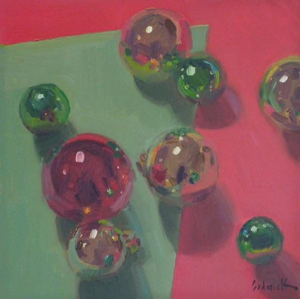 """Christmas True Colors"" original fine art by Sarah Sedwick"