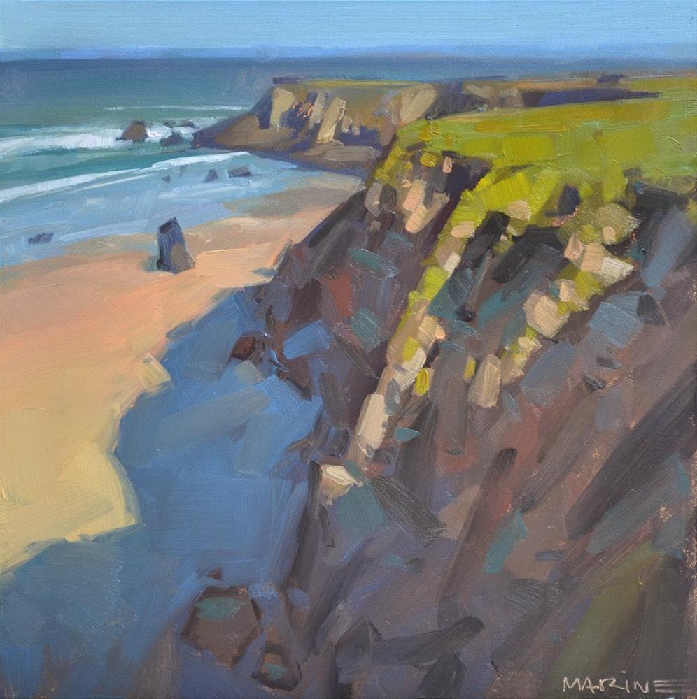 """""""Cliff Shadows"""" original fine art by Carol Marine"""