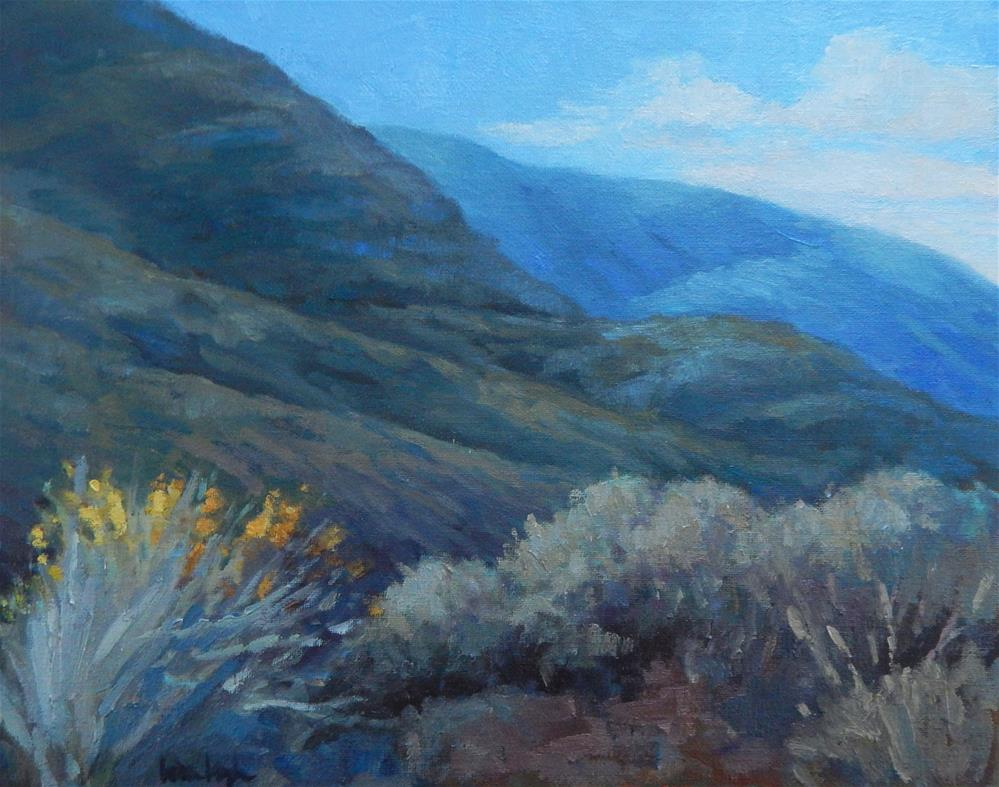 """Ojai Morning"" original fine art by Lisa Kyle"