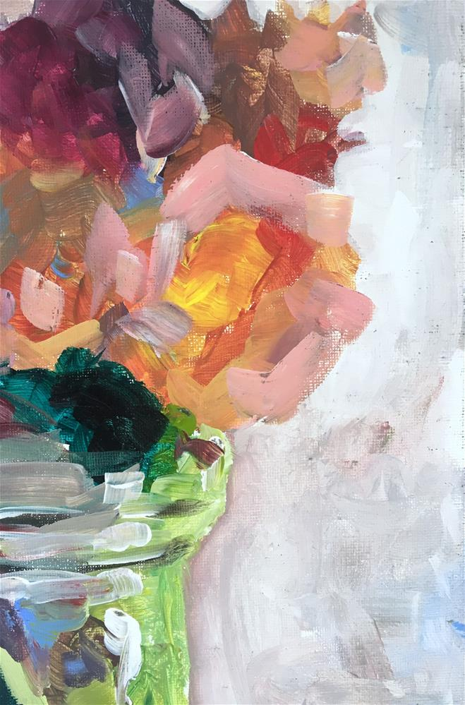 """Rose Study"" original fine art by Susan Elizabeth Jones"