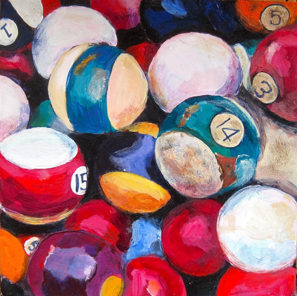 """Out of Pocket"" original fine art by Diane Campion"
