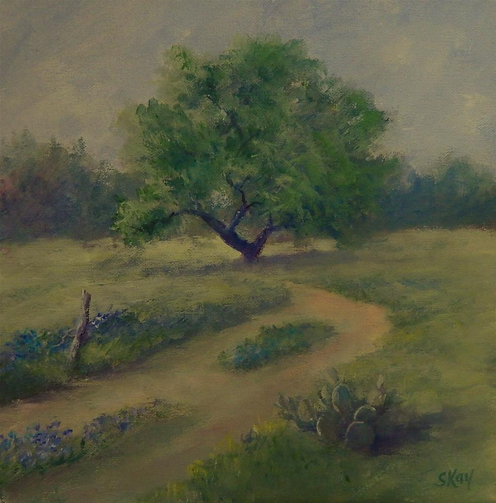 """A Taste of Texas"" original fine art by Sharon Kay Baker"