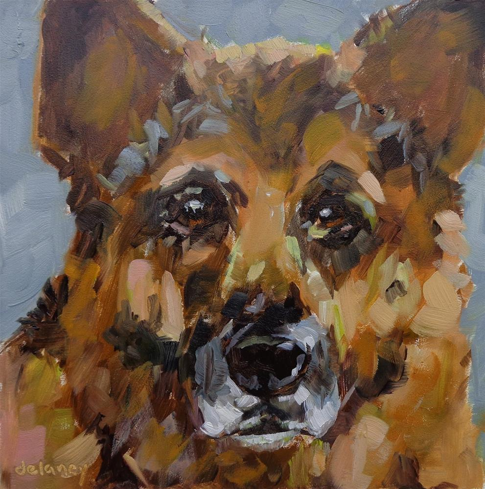 """MACK"" original fine art by Jean Delaney"