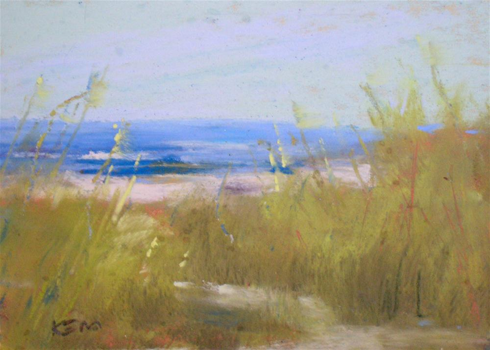 """By the Sea"" original fine art by Karen Margulis"