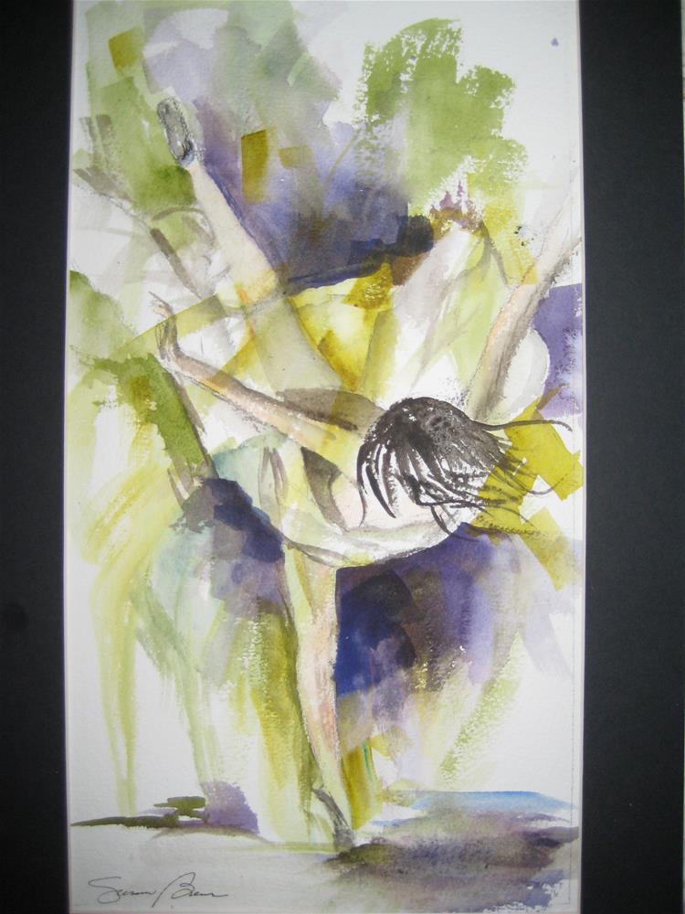 """""""Ballerina 1"""" original fine art by Susan Brens"""