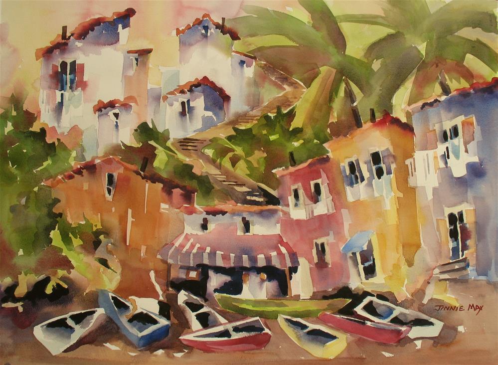 """Sorrento II"" original fine art by Jinnie May"