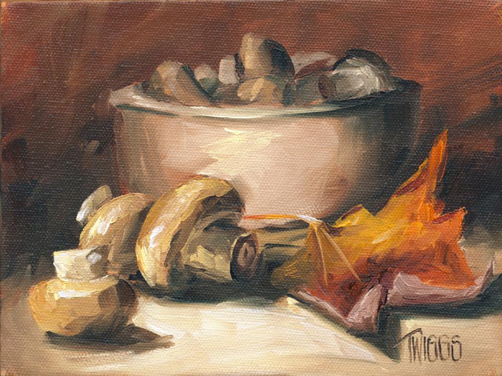 """Fall Pickin's"" original fine art by Lori Twiggs"