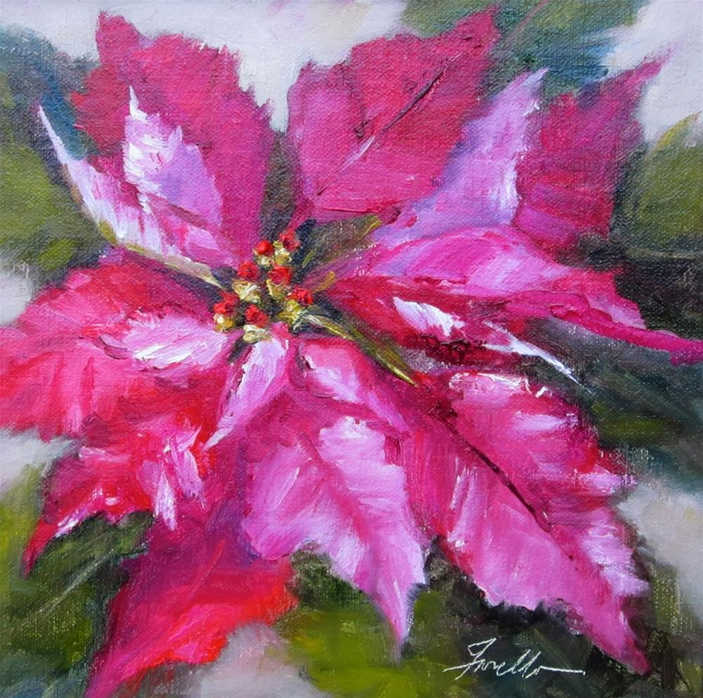 """Holiday Beauty"" original fine art by Pat Fiorello"