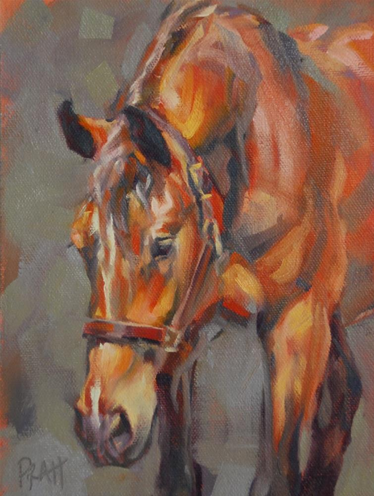 """That Mare Look"" original fine art by Jennifer Pratt"