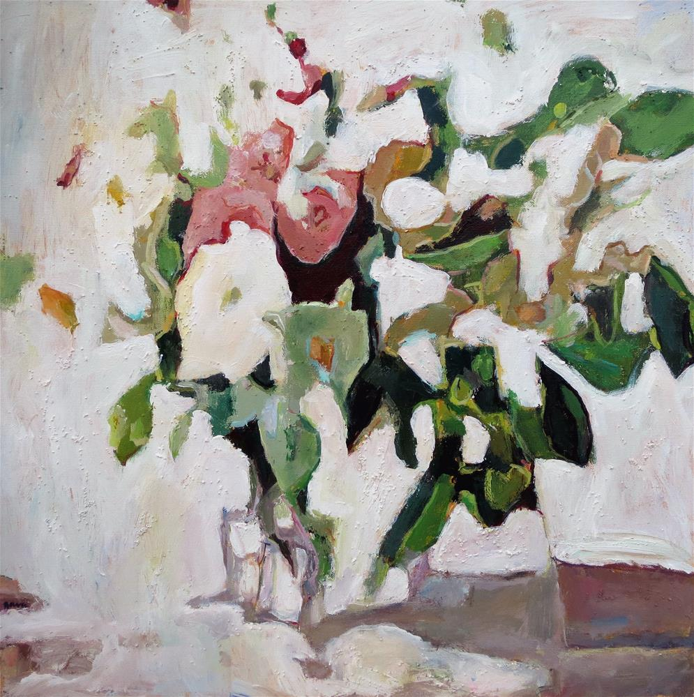 """""""A Hint of Pink"""" original fine art by Nava Judith"""
