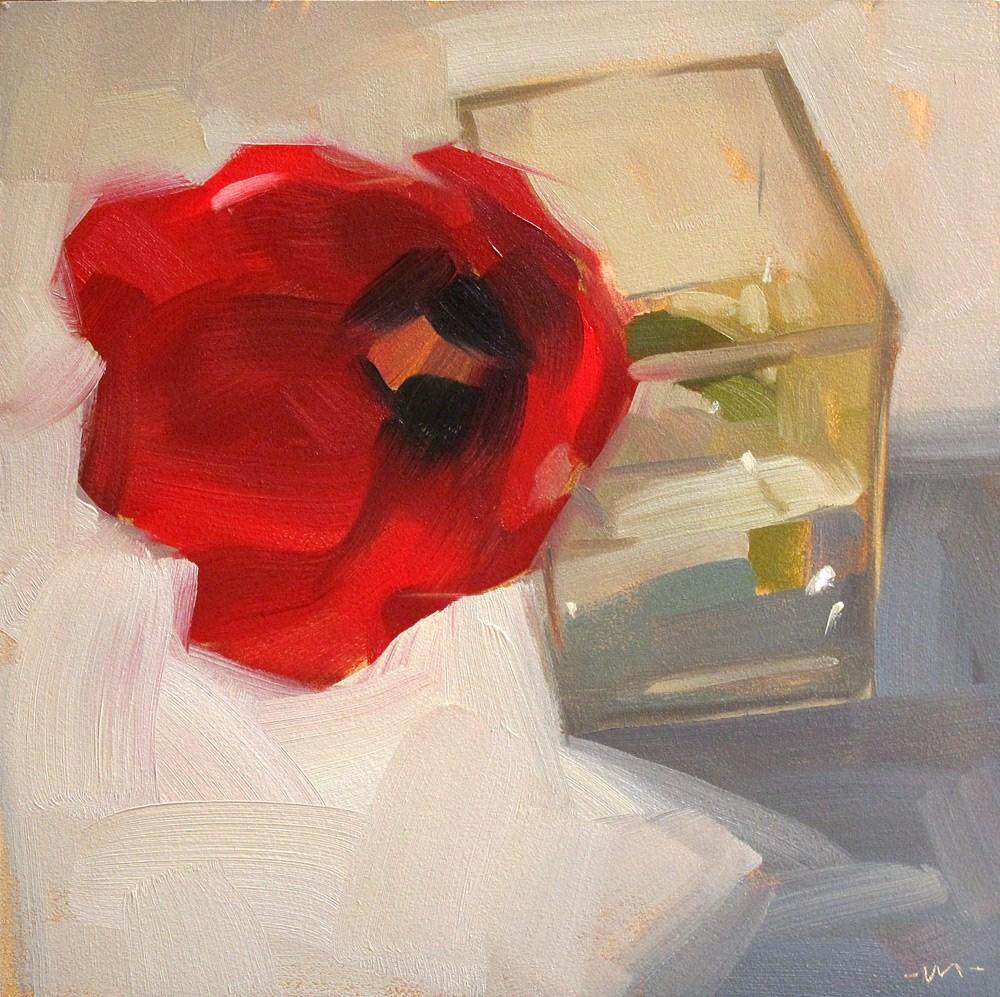 """Not Tulips, Just One"" original fine art by Carol Marine"