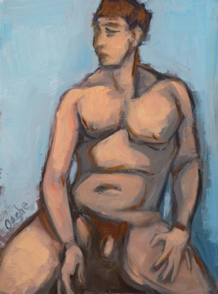 """Nude Shapes 2"" original fine art by Angela Ooghe"