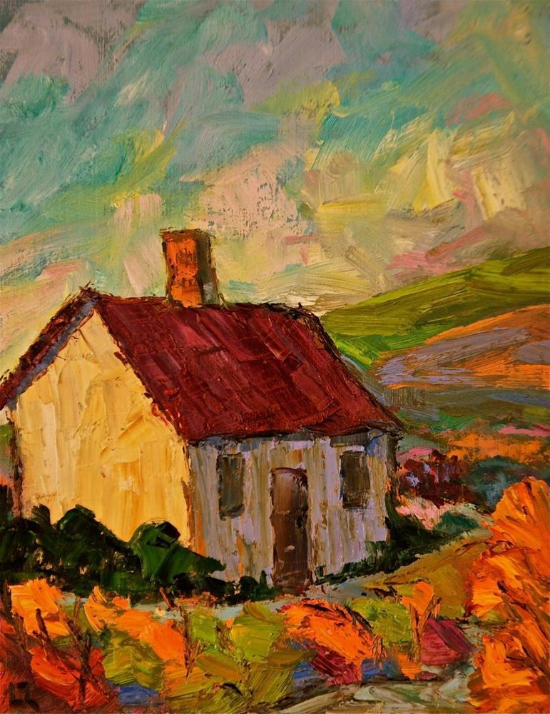 """""""On the Trail"""" original fine art by Liz Zornes"""