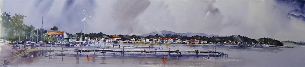"""The 4th Storm at Ribarsko Selishte"" original fine art by Martin Stephenson"